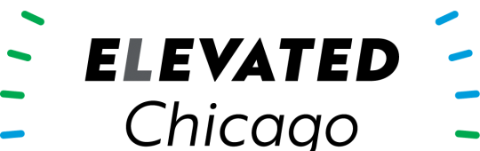 Elevated Chicago Logo: Connecting People, Building Equity